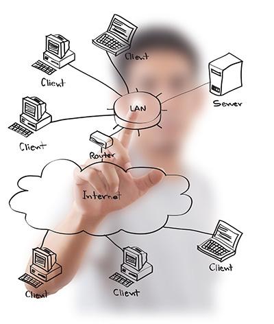 طراحی، نصب و راه اندازی شبکه